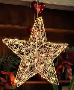 Weihnachtsstern Außen Led : led stern f r au en silberdraht weihnachtsstern 60 180 ~ Watch28wear.com Haus und Dekorationen