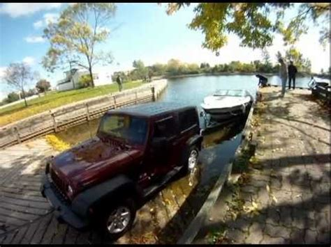 Tow A Boat With Jeep Wrangler Unlimited by Jeep Wrangler As A Dingy Autos Post