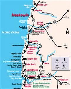 Neskowin Oregon Coast Map