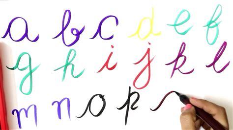 Small Abcd Cursive Writing  Writing Small Alphabets In Cursive  Alphabets In Cursive Letters