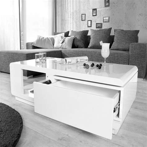table basse laqua blanc de salon laque ext rieur design