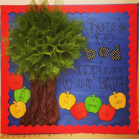 bulletin board door idea for august back to school theme 818 | 26798589cbd70b479f582452c66c2fbd