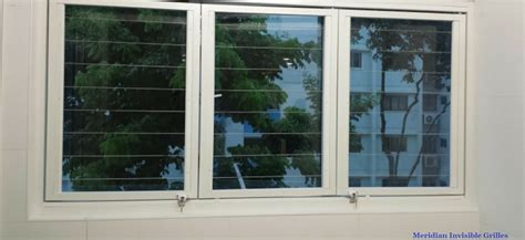 invisible grille window grilles legate singapore