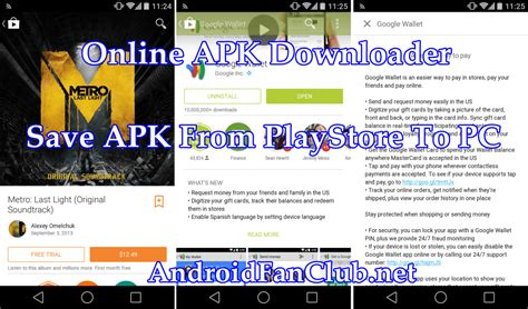 how to apk directly on pc from play store