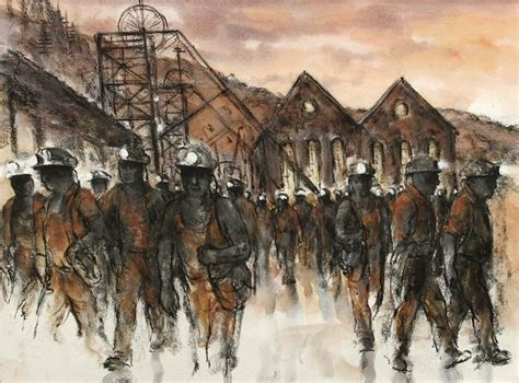 64 Best Welsh Mining Art Images On Pinterest