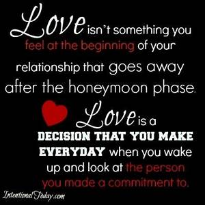 Love isn't so... Cute Relationship Commitment Quotes
