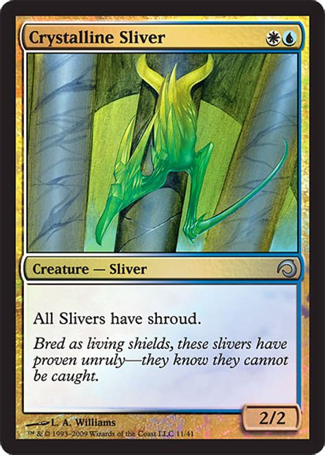 Sliver Deck Mtg Standard by Premium Deck Series Slivers Looks Awesomepower 9 Pro