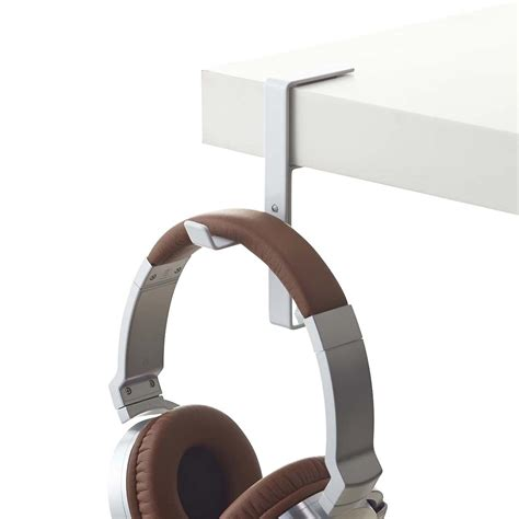 Yamazaki Beautes Desk Headphone Hanger  The Container Store. Best Lap Desks. Ikea Desk Instructions. Wood Top Table. Black 2 Drawer File Cabinet. Raising Coffee Table. Toolbox Drawers. Dining Table Cheap. Folding Outdoor Dining Table
