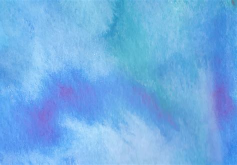 Watercolor Background Blue Watercolor Vector Background Free Vector