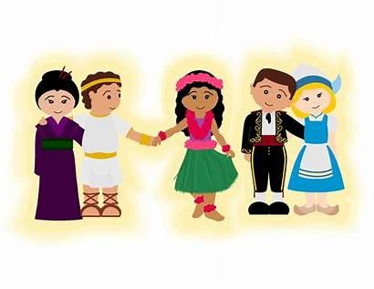 Hands Around Holding Children Gospel Song Glowing