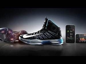 Nike's New High-Tech Sneakers Track Your Dunks - YouTube  Nike