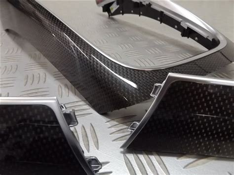 audi  fs oem sq carbon fiber interior trim set