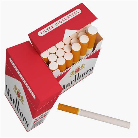 marlboro cigarette pack   model max obj cd