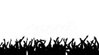crowd silhouette stock 000538904 hd stock footage