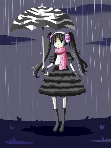 muffy   rain  sketchbooklyn  deviantart
