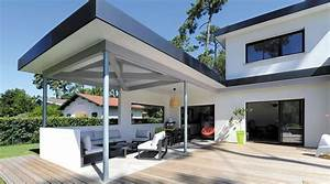 Une Maison Contemporaine Et Design  U00e0 Hossegor   Terrasse