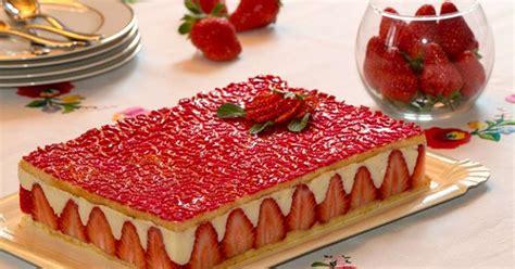 recette facile a cuisiner le fraisier un des desserts préférés des français une pâtisserie d 39 une fraîcheur et d 39 une