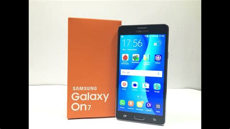 samsung galaxy on7 unboxing review youtube