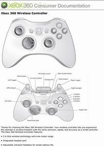 Xbox 360 Wired Controller Schematic
