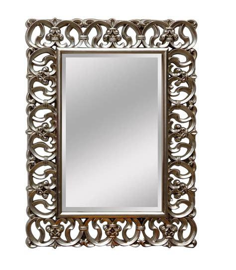 miroir baroque argent ziloo fr
