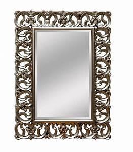 Miroir Baroque Argenté : miroir baroque argent ~ Teatrodelosmanantiales.com Idées de Décoration