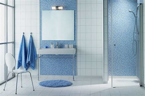 Bright & Beautiful Blue Bathrooms