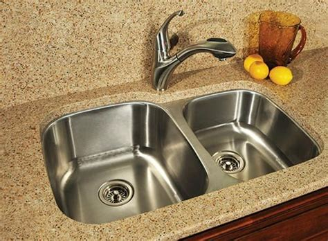 kitchen sink faucets menards tuscany 60 40 undermount kitchen sink at menards 5796