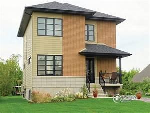 Simple Slanted Roof Modern House Simple Modern House Plan ...