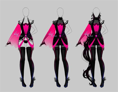 Outfit design - 205 - closed by LotusLumino on DeviantArt