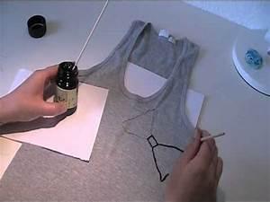 Stoff Zum Bemalen : anleitung stoffe mit textilfarbe bemalen youtube ~ A.2002-acura-tl-radio.info Haus und Dekorationen