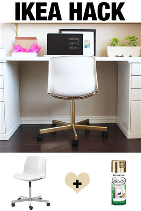 snille swivel chair hack ikea hack snille