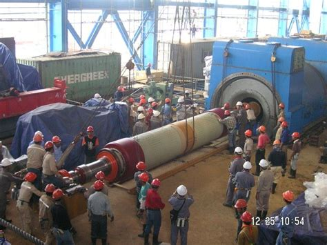 generator rotor inserted power plant engineering