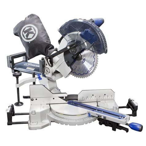 Kobalt 10in 15amp Single Bevel Sliding Compound Laser