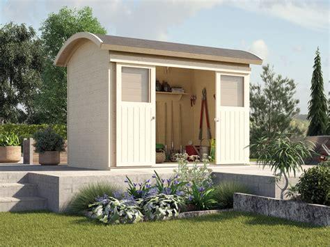 Kleines Holz Gartenhaus by Gartenhaus Holz Oder Kunststoff Denvirdev Info