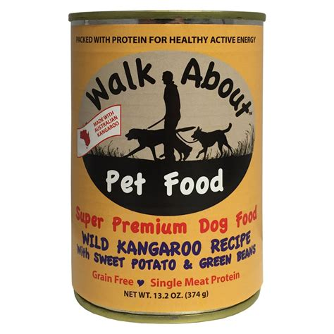 walk  kangaroo  sweet potato grain  canned