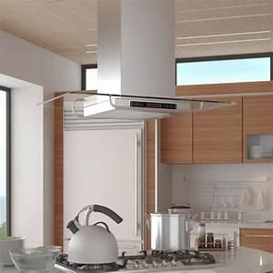 Hotte Pour Ilot Central : hotte aspirante de cuisine pour ilot ultra moderne achat ~ Melissatoandfro.com Idées de Décoration