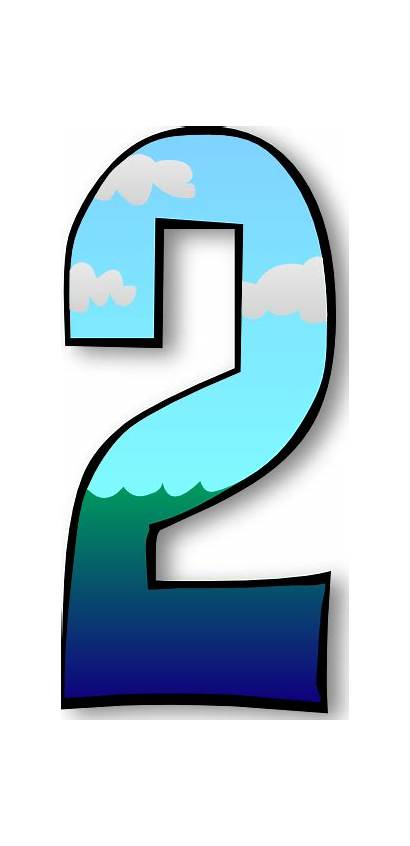 Clip Numbers Creation Days Clipart Number Cliparts