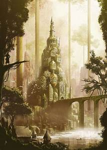 275 best images about Fantasy (Cités) on Pinterest | Trees ...