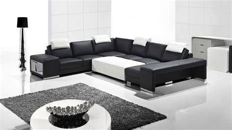 teindre canapé cuir vente canape cuir design noir blanc genesis collection