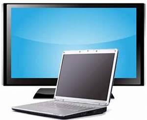 Wie Hoch Hängt Man Einen Fernseher : notebook an fernseher anschlie en laptop tv anschluss ~ Eleganceandgraceweddings.com Haus und Dekorationen