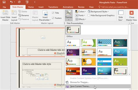 Powerpoint 2016 Slide Master View  The Highest Quality