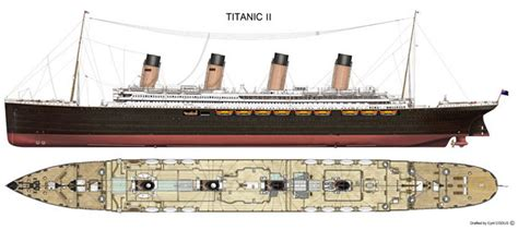 Titanic 2 Deck Plans by The Titanic Ii