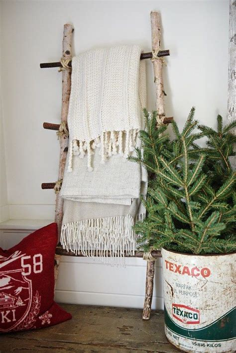 diy blanket ladder see how to make this blanket ladder