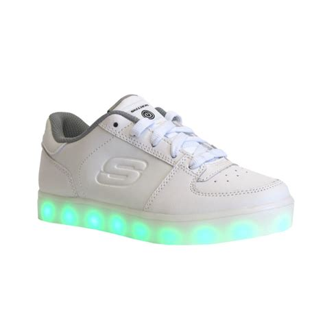 energy light shoes skechers skechers energy lights 90601l white