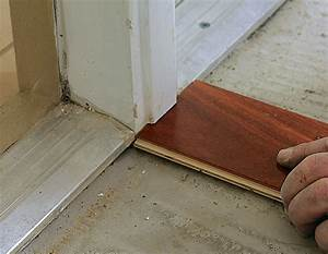 Adhesive for wood to concrete glue wood flooring to a for How long does it take to install hardwood floors