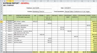 Expense Record Template by 4 Business Expense Tracker Templates Excel Xlts