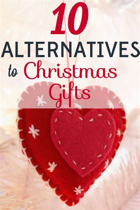 alternative christmas giving 10 alternatives to gifts living on a dime money saving recipes and tips unique