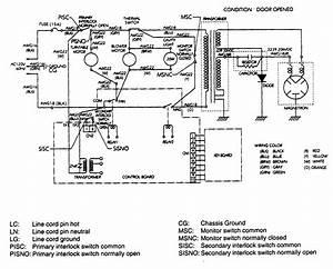Emerson Model Mw8775w Countertop Microwave Genuine Parts