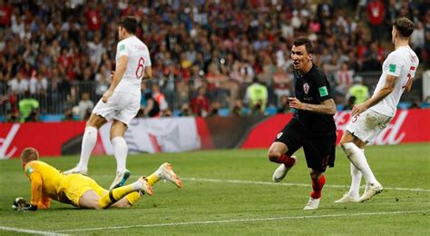 Fifa World Cup Live Tracker Croatia England