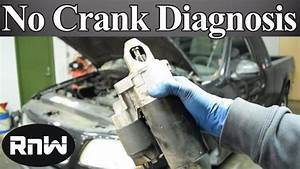 How To Diagnose A No Crank No Start Issue